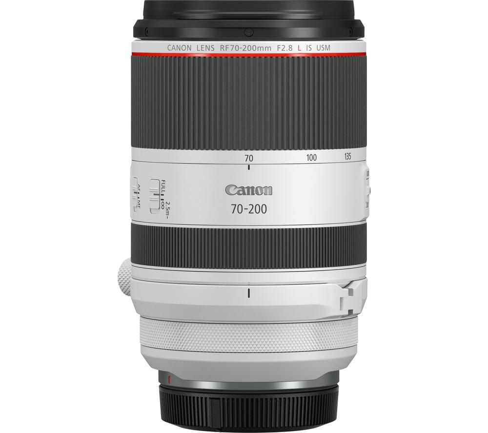CANON RF 70-200 mm f/2.8L IS USM Telephoto Zoom Lens