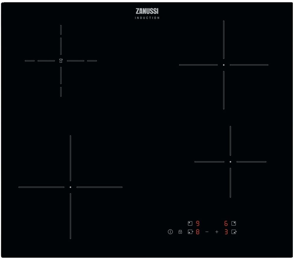 ZANUSSI ZITN646K Electric Induction Hob - Black
