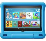 £140, AMAZON Fire HD 8inch Kids Edition Tablet (2020) - 32 GB, Blue, Fire OS 7, HD Ready screen, 32GB storage: Perfect for apps / photos / videos, Battery life: Up to 12 hours, Add more storage with a microSD card,