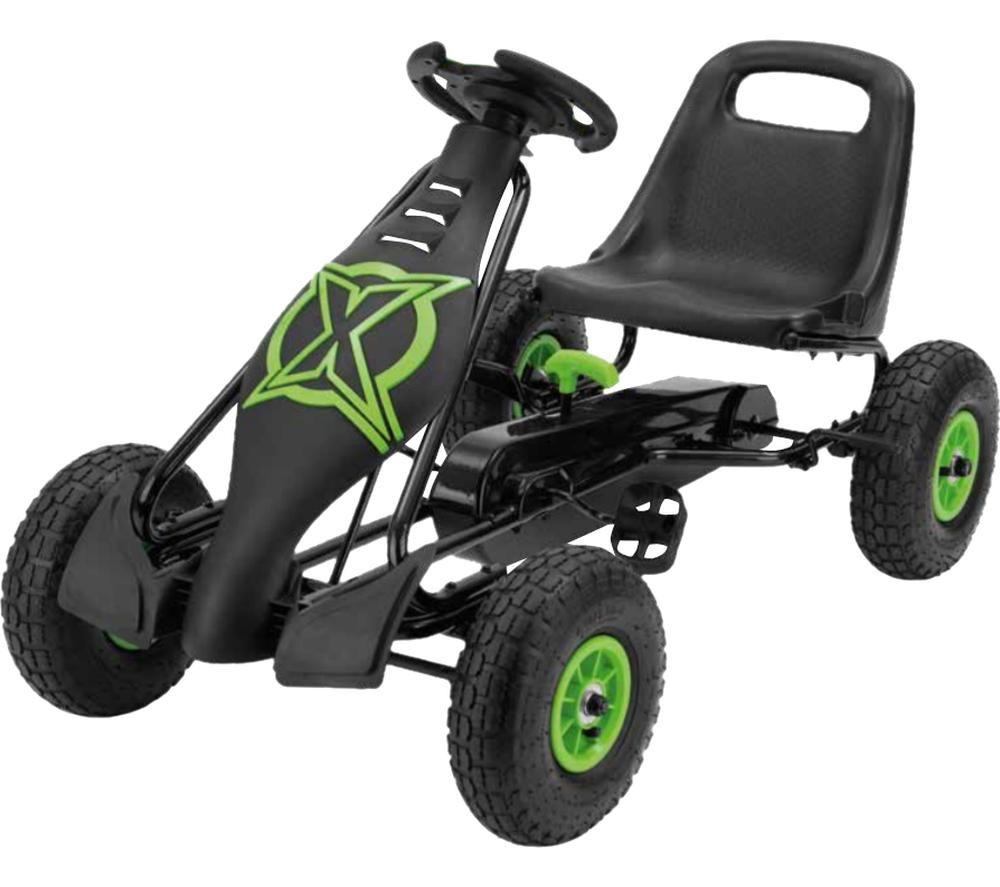 XOOTZ Viper TY5908 Go-Kart - Green & Black