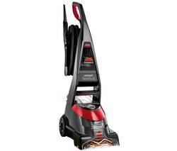 Image of BISSELL Stain Pro 6 20096 Upright Carpet Cleaner - Red & Titanium