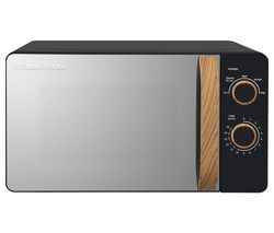 RUSSELL HOBBS RHMM713B-N Compact Solo Microwave - Black Best Price, Cheapest Prices