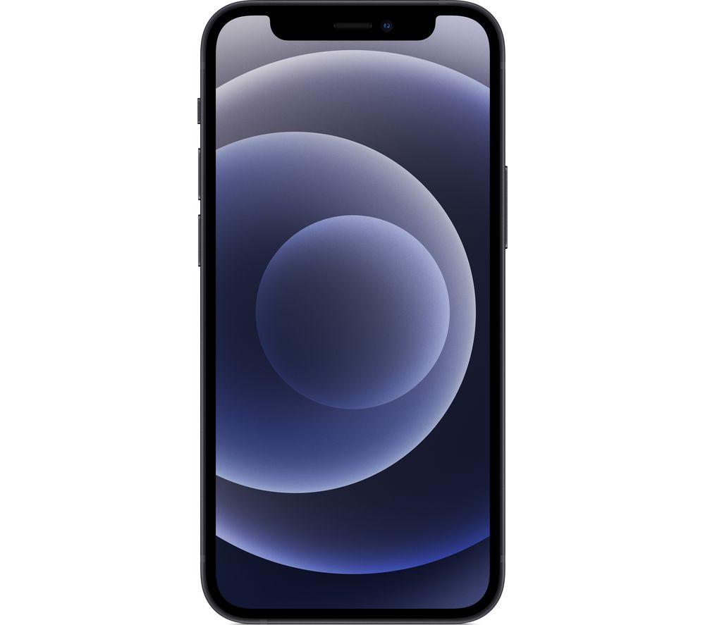 APPLE iPhone 12 Mini - 256 GB, Black