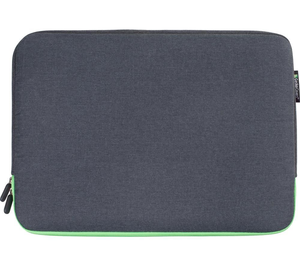 """Image of GECKO COVERS Universal ZSL11C7 12"""" Laptop Sleeve - Green, Green"""