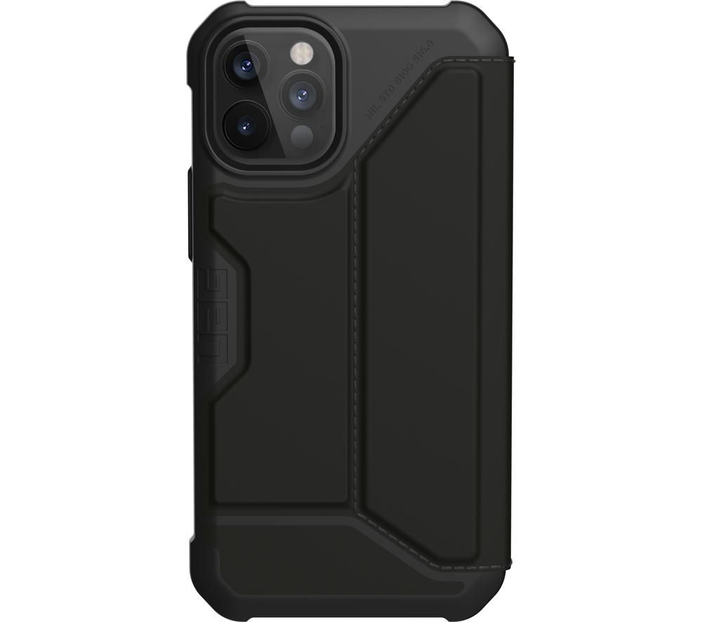 UAG Metropolis Rugged iPhone 12 & 12 Pro Case - Black