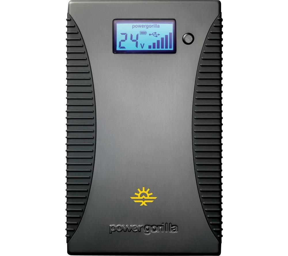 POWERTRAVELLER Powergorilla PG002 Portable Power Bank - Black & Grey
