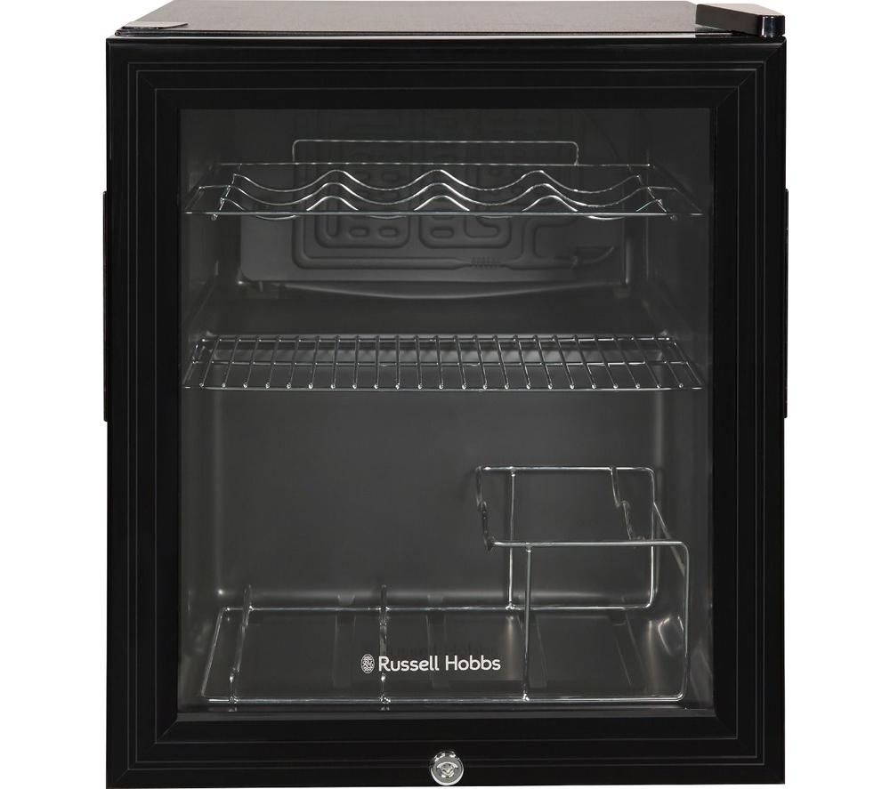 RUSSELL HOBBS RHGWC1B-C-LCK Drinks & Wine Cooler – Black, Black