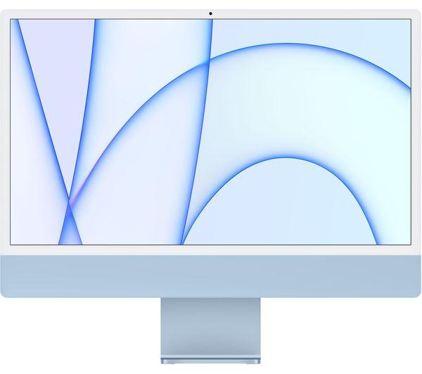 "Image of APPLE iMac 4.5K 24"" (2021) - M1, 512 GB SSD, Blue"