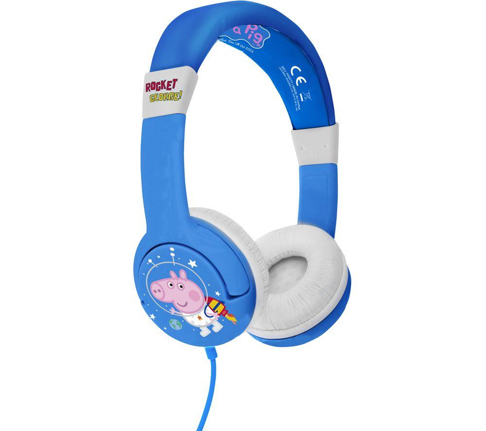 OTL PP0777 Peppa Pig Rocket George Kids Headphones - Blue