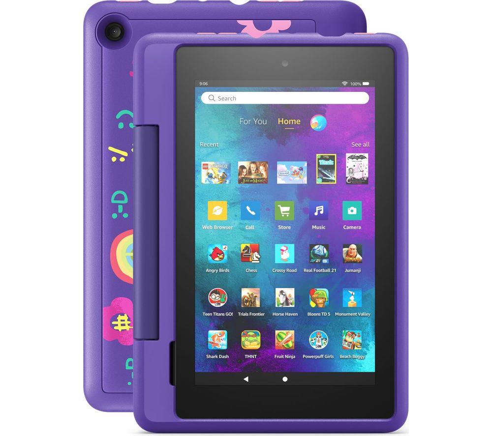 AMAZON Fire 7 Kids Pro Tablet (2021) - 16 GB, Doodle