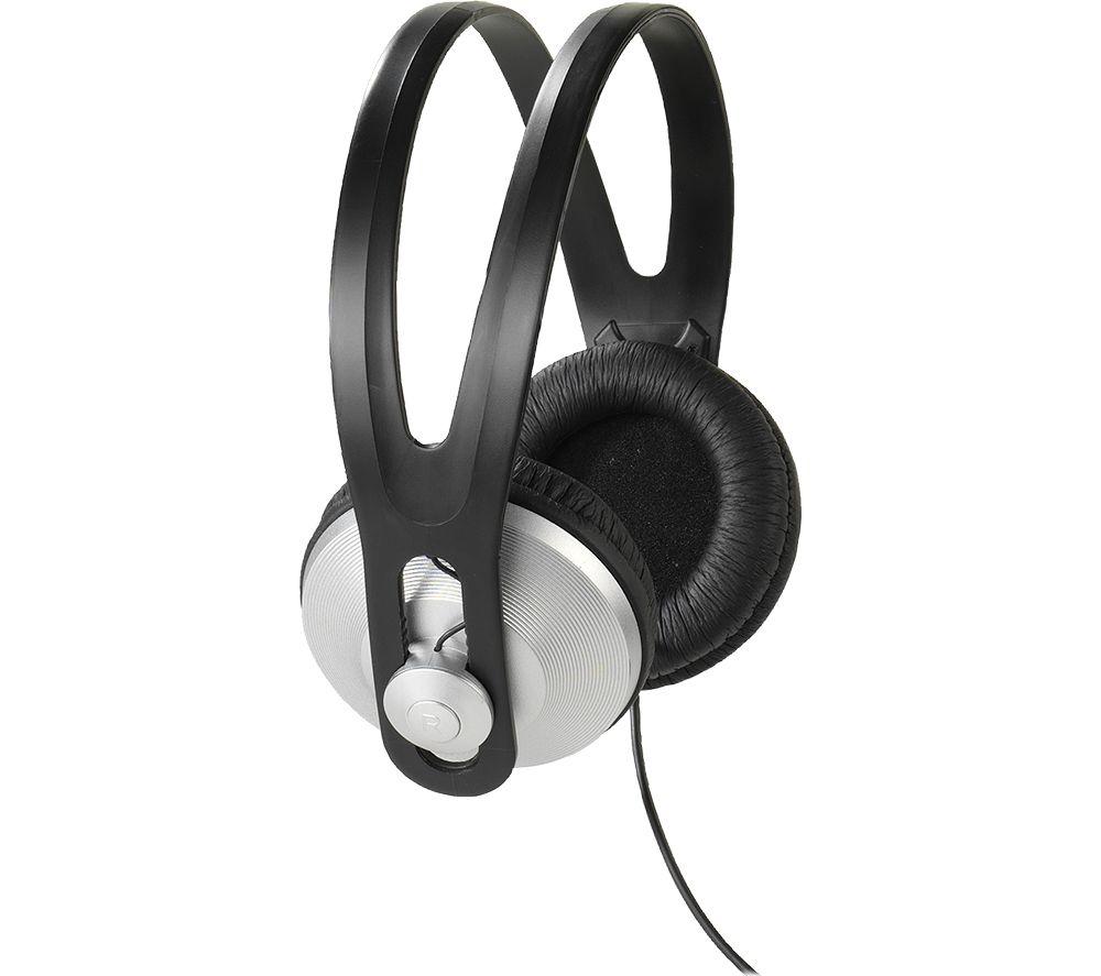 VIVANCO Stereo 97 Headphones - Black & Silver