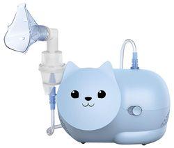Nami Cat Children's Compressor Nebuliser - Blue