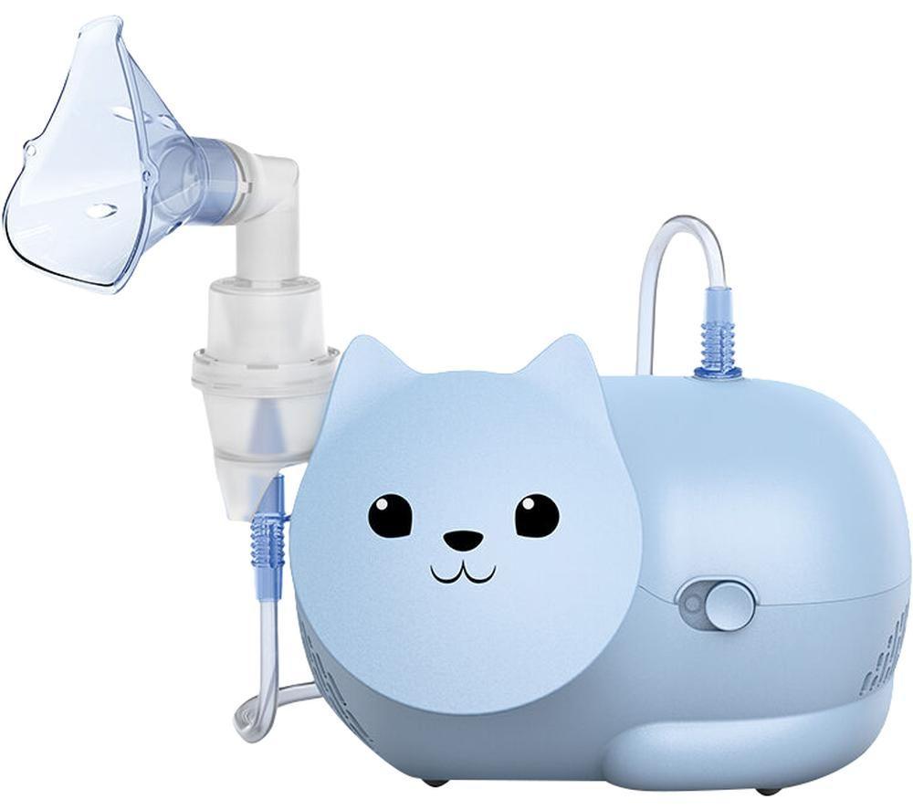 OMRON Nami Cat Children's Compressor Nebuliser - Blue