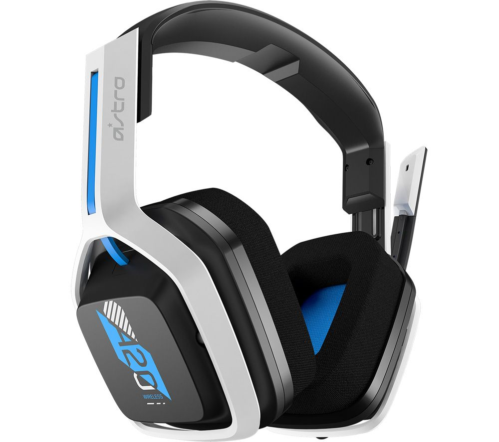 ASTRO A20 Wireless Gaming Headset - Blue & White