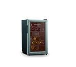 BAUMATIC BW18 Wine Cooler - Black & Aluminium