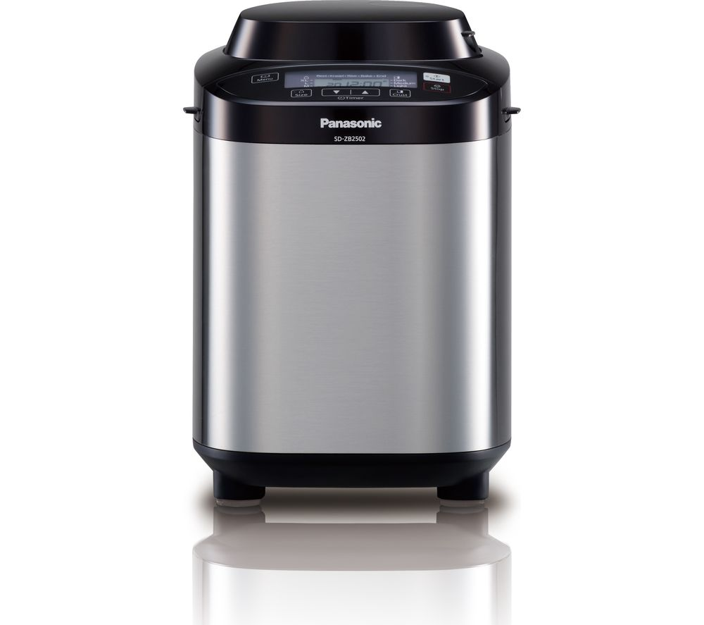 PANASONIC SD-ZB2502BXC Breadmaker – Stainless Steel, Stainless Steel