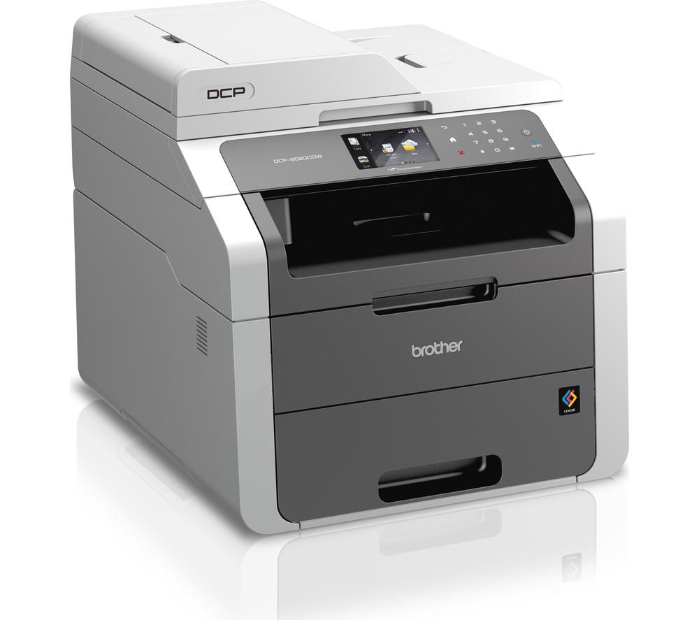Image of BROTHER DCP9020CDW All-in-One Wireless Laser Printer, Black