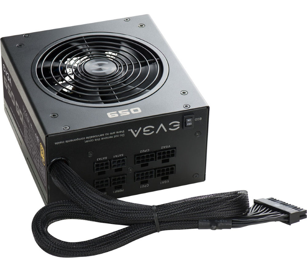 Compare retail prices of Evga 650 GQ Gold Hybrid Modular ATX PSU 650 W Gold to get the best deal online