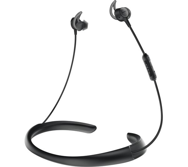 Wireless noise cancelling headset with microphone