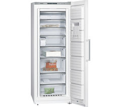 SIEMENS iQ500 GS58NAW41 Tall Freezer - White