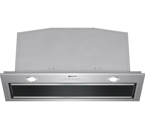 NEFF D57ML67N0B Canopy Cooker Hood - Stainless Steel
