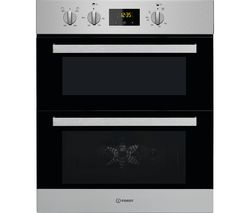 Aria IDU 6340 IX Electric Built-under Double Oven - Stainless Steel