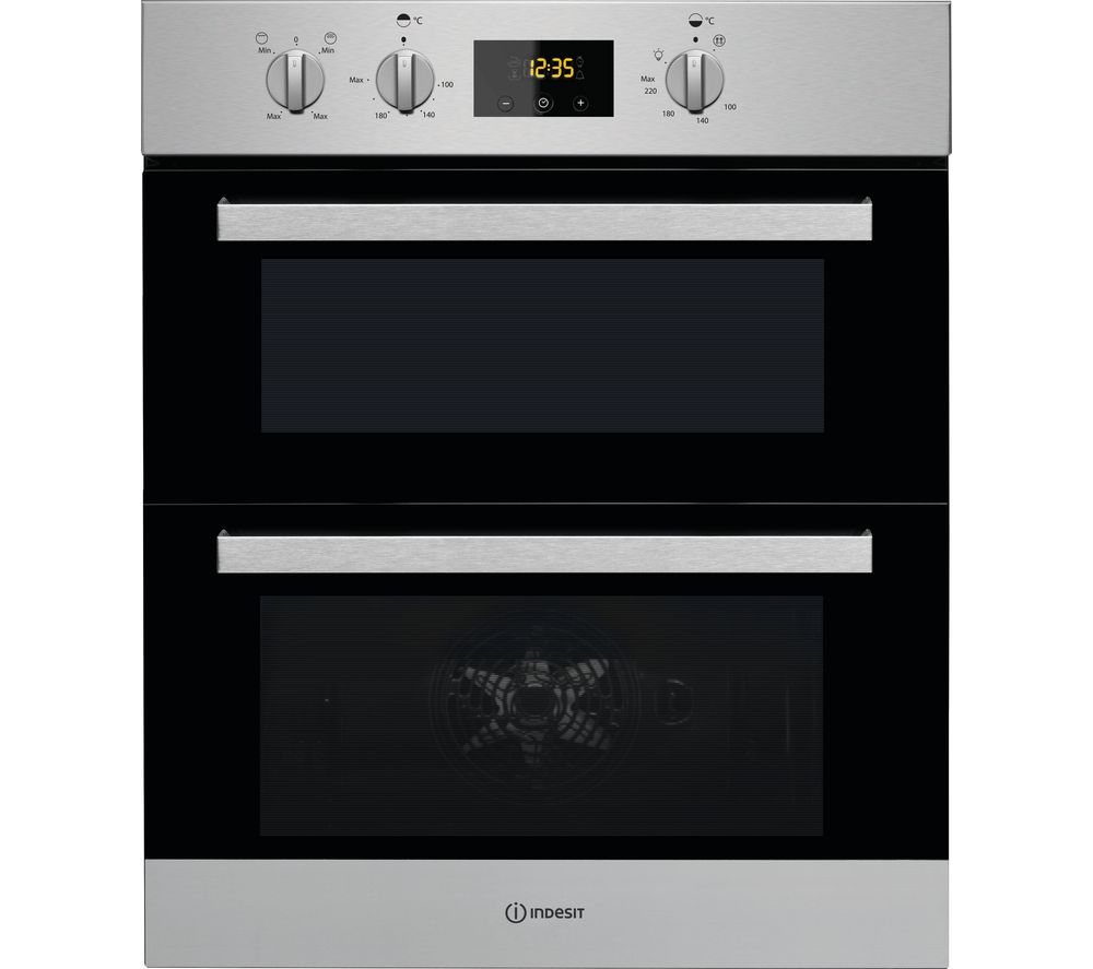 Compare prices for Indesit Aria IDU 3640 IX Electric Built-under Double Oven