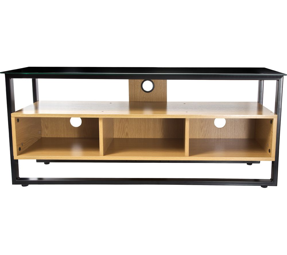 PROPER P-TSSLIM01W-1 TV Stand - Black