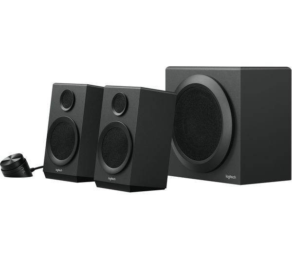 Buy Logitech Z337 2 1 Wireless Pc Speakers Black Free