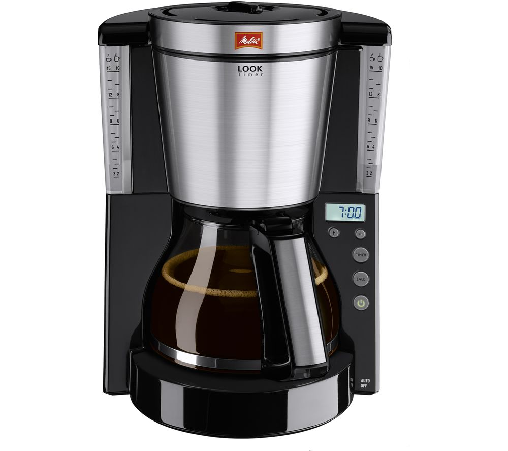 MELITTA Look IV Timer Filter Coffee Machine - Black