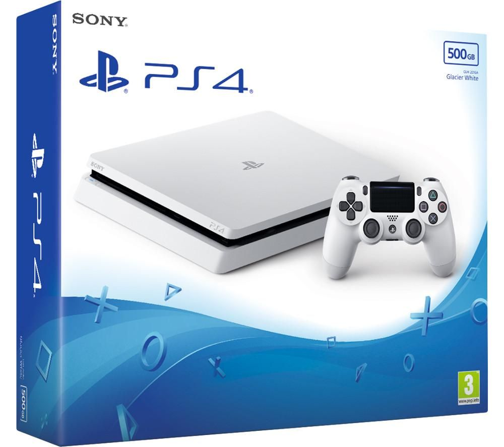 SONY PlayStation 4 - 500 GB, White