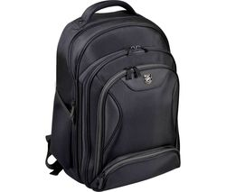 "PORT DESIGNS Manhattan 15.6"" Laptop Backpack - Black"
