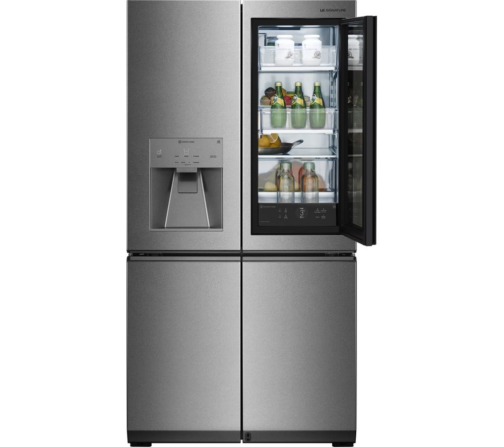 Buy Lg Signature Instaview Lsr100 Smart 60 40 Fridge