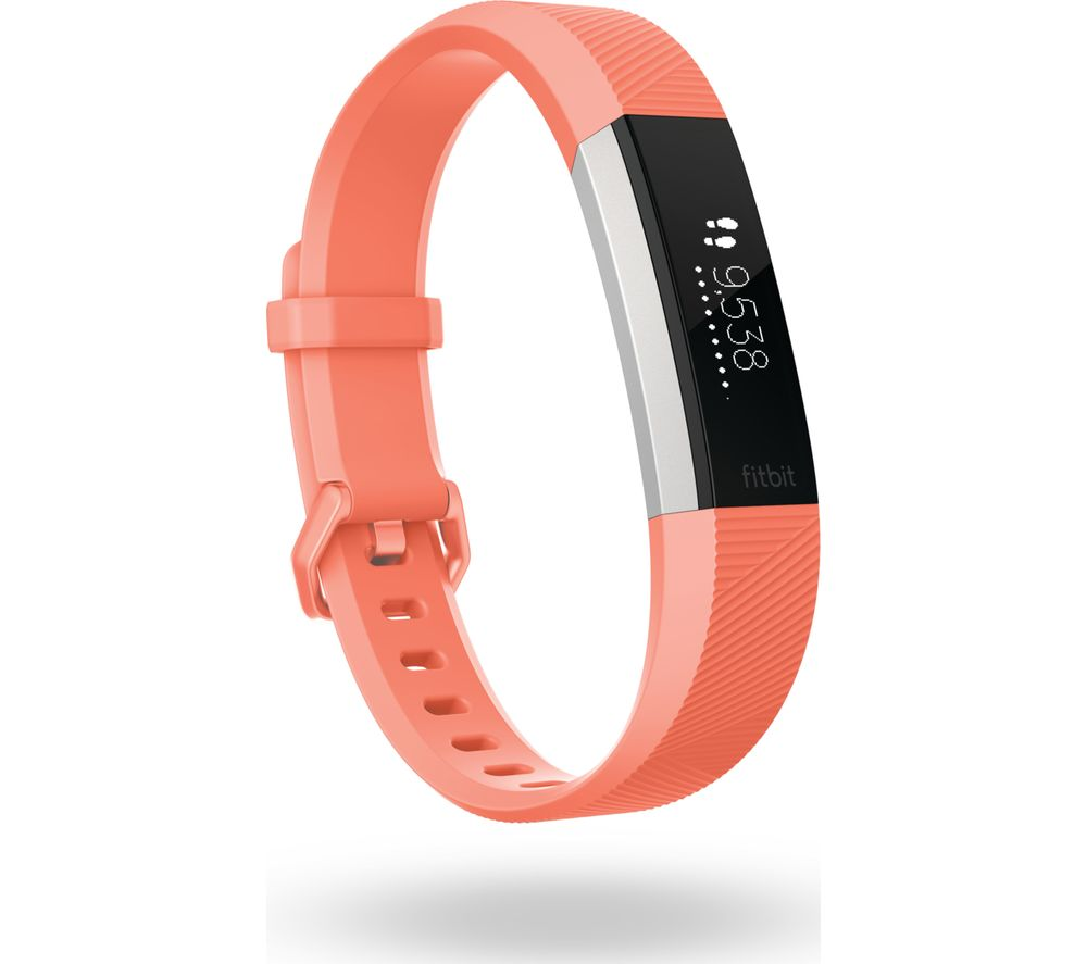 FITBIT Alta HR - Coral, Large