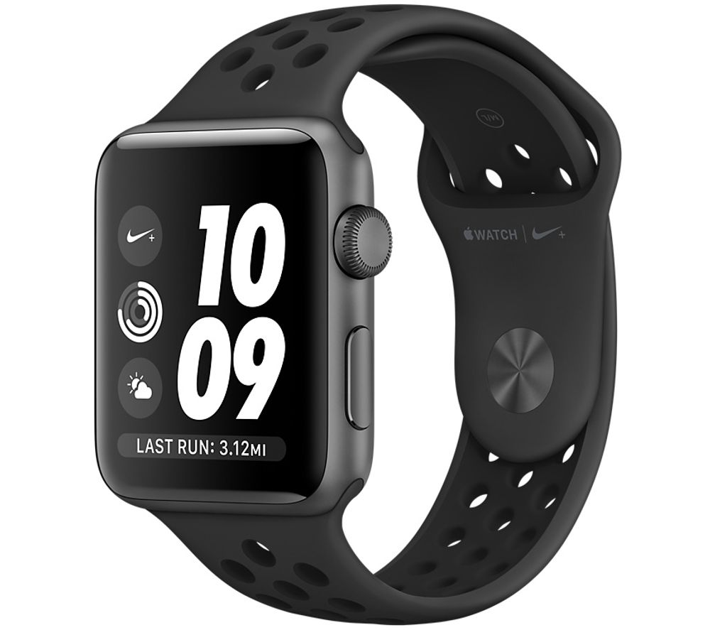 Image of APPLE WATCH NIKE 38MM SPGR ANTHBLK-GBR