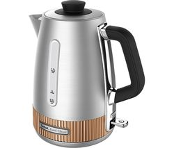 TEFAL Avanti Classic KI290F40 Traditional Kettle - Silver & Copper