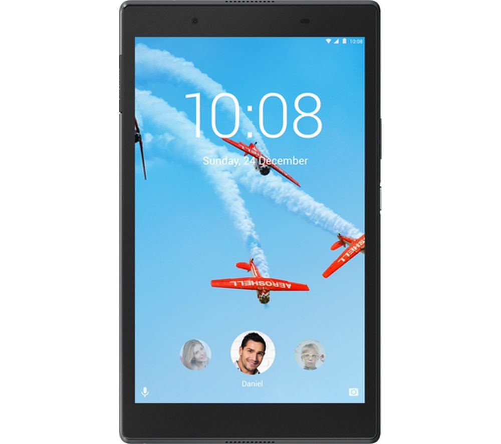 LENOVO Tab4 8 Tablet - 16 GB, Slate Black + LiveSafe Premium 2018 - 1 year for unlimited devices + Cloud Storage for Tablets & Mobiles - 200 GB, 1 year