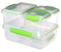 SISTEMA Fresh Rectangular Containers - Set of 6