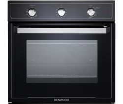 KS101GBL Gas Oven - Black
