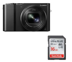 PANASONIC Lumix DMC-TZ100EB-K High Performance Compact Camera - Black