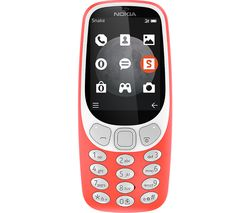 NOKIA 3310 3G - 64 MB, Red