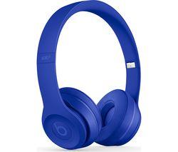 BEATS Solo 3 Neighbourhood Wireless Bluetooth Headphones - Break Blue