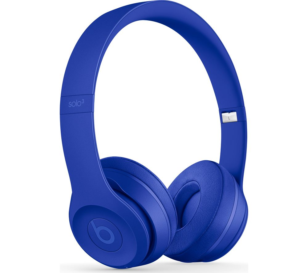Compare retail prices of Beats Solo 3 Neighbourhood Wireless Bluetooth Headphones - Break Blue to get the best deal online