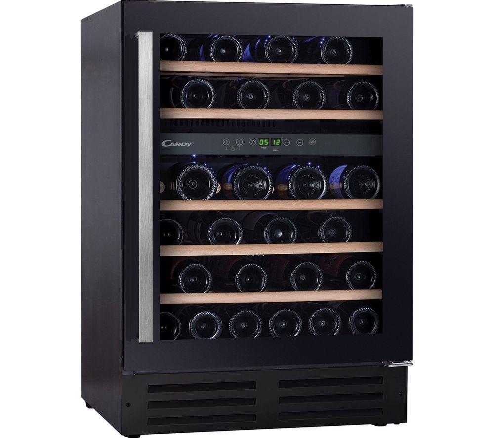 CANDY CCVB 60D UK Wine Cooler - Black