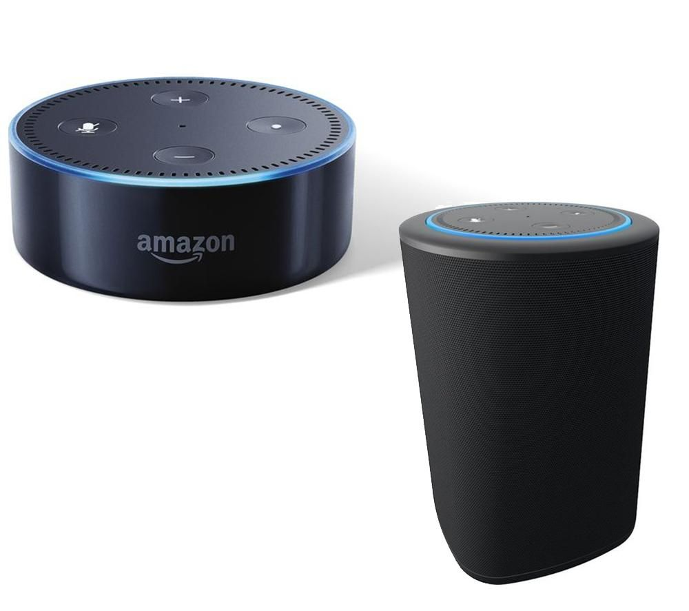 Image of AMAZON Echo Dot & Vaux Speaker Bundle