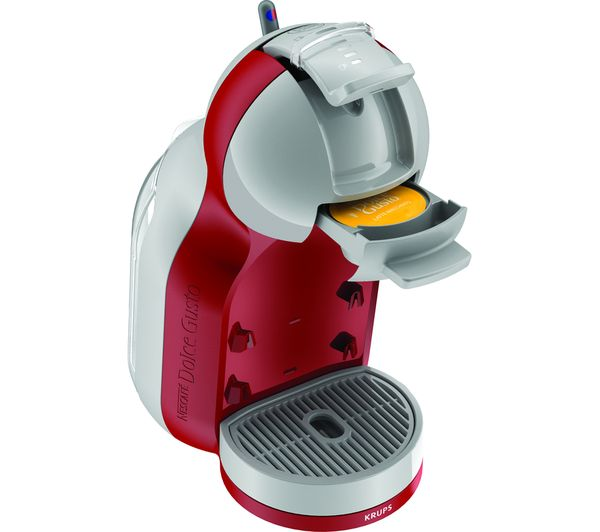 buy dolce gusto by krups mini me kp120540 coffee machine red arctic grey free delivery. Black Bedroom Furniture Sets. Home Design Ideas