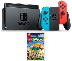 NINTENDO Switch & Lego Worlds - Neon