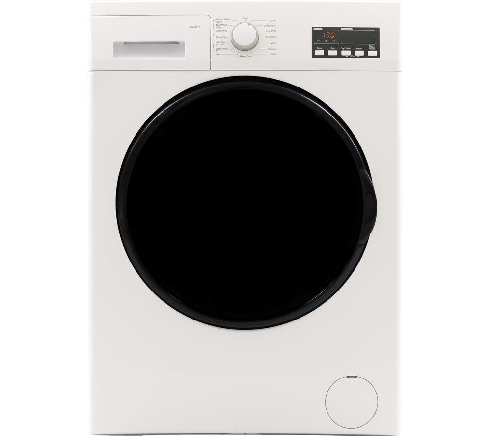 Logik Washer Dryer L7W5D18 7 kg - White, White
