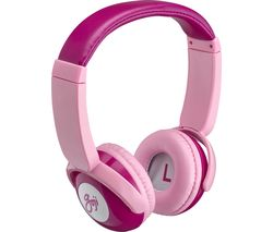 GKIDBTP18 Wireless Bluetooth Kids Headphones - Pink
