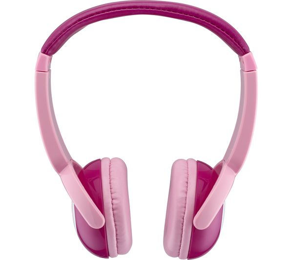 d086627d5a1 Buy GOJI GKIDBTP18 Wireless Bluetooth Kids Headphones - Pink   Free ...